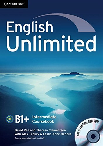 9780521739894: English Unlimited Intermediate Coursebook with e-Portfolio