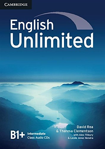 9780521739900: English Unlimited Intermediate Class Audio CDs (3)