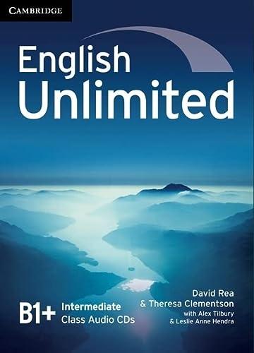 9780521739900: English Unlimited Intermediate Class Audio CDs (3)