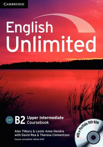 9780521739917: English Unlimited Upper Intermediate Coursebook with e-Portfolio