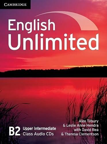 9780521739924: English Unlimited Upper Intermediate Class Audio CDs (3)