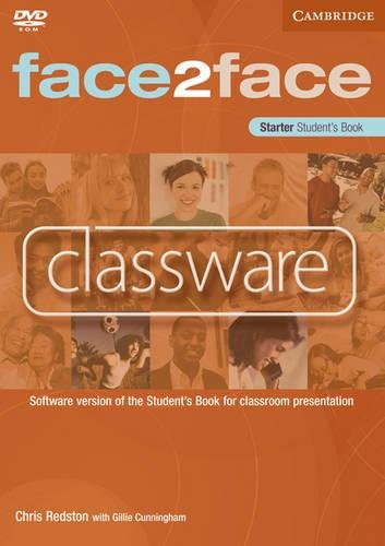 face2face Starter Classware: Software Version of the Student's Book for Classroom Presentation (0521740444) by Redston, Chris; Cunningham, Gillie