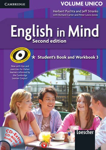 9780521740609: English in Mind Level 3 Student's Book, Workbook with CD Extra, Companion and Revision Book, Italian Edition: Level 3