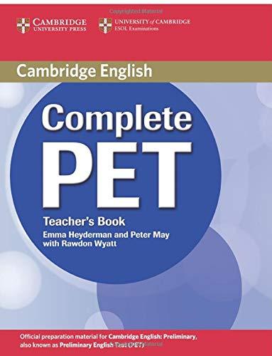 9780521741378: Complete PET Teacher's Book