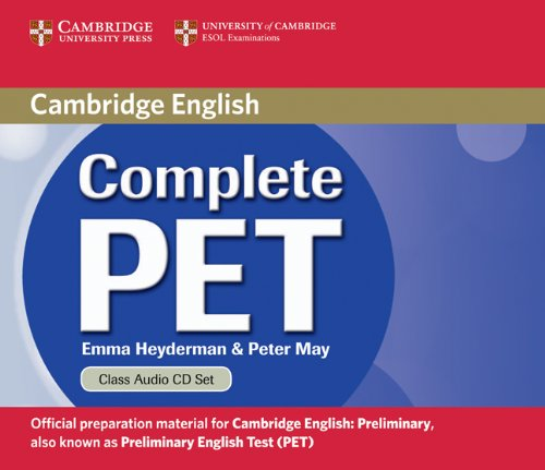 9780521741385: Complete PET Class Audio CDs (2)