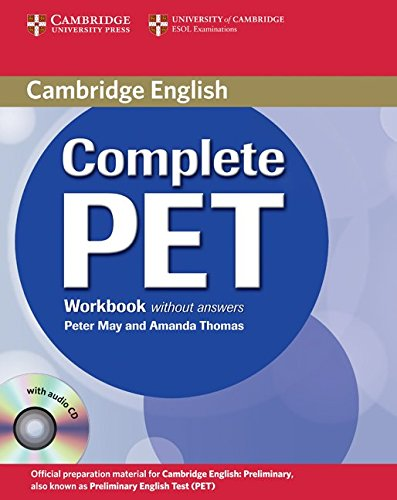 9780521741392: Complete PET Workbook without answers with Audio CD