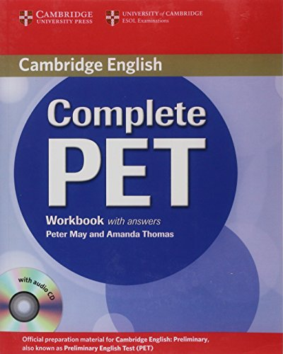 9780521741408: Complete PET Workbook with answers with Audio CD