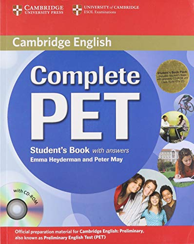 9780521741415: Complete PET Student's Book Pack (Student's Book with answers with CD-ROM and Audio CDs (2))