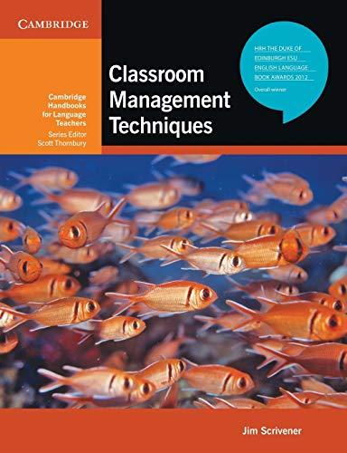 9780521741859: Classroom Management Techniques (Cambridge Handbooks for Language Teachers)