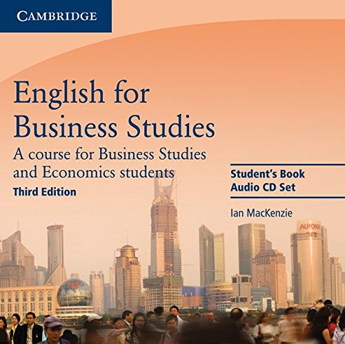 9780521743433: English for Business Studies Audio CDs (2): A Course for Business Studies and Economics Students