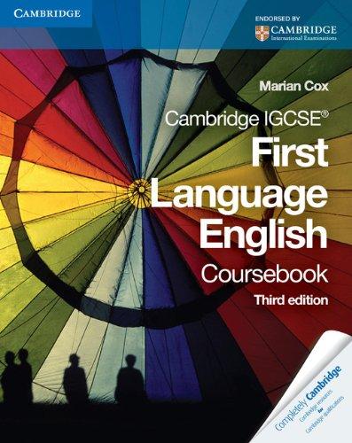 9780521743594: First Language Englis. Course Book (Cambridge International Examinations)