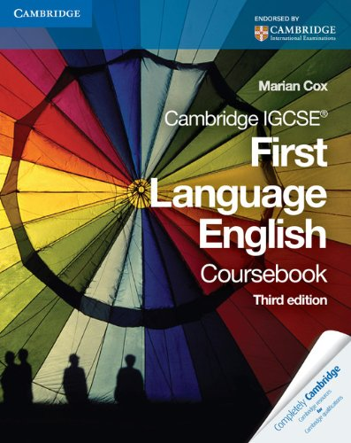 Cambridge Igcse First Language English Coursebook
