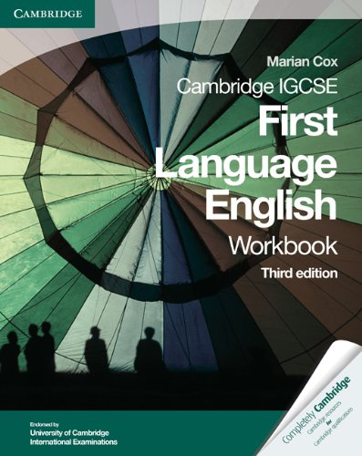 9780521743624: Cambridge IGCSE First Language English Workbook (Cambridge International IGCSE)