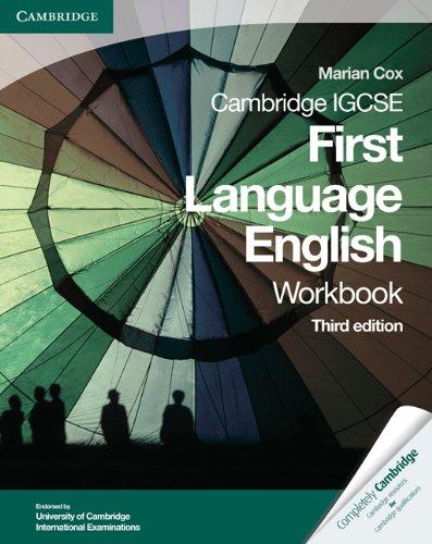 9780521743624: Cambridge IGCSE First Language English Workbook (Cambridge International IGCSE)