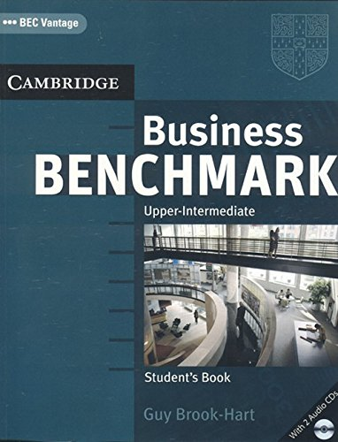 9780521743648: Business Benchmark Upper-Intermediate Student's Book for BEC Vantage Edition with 2 Audio CDs pack