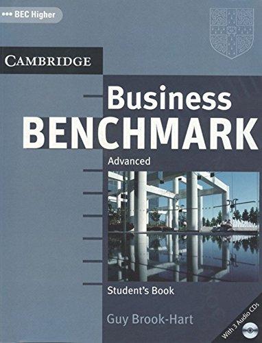 Business Benchmark Advanced Student`s Book BEC Higher: Guy Brook-Hart