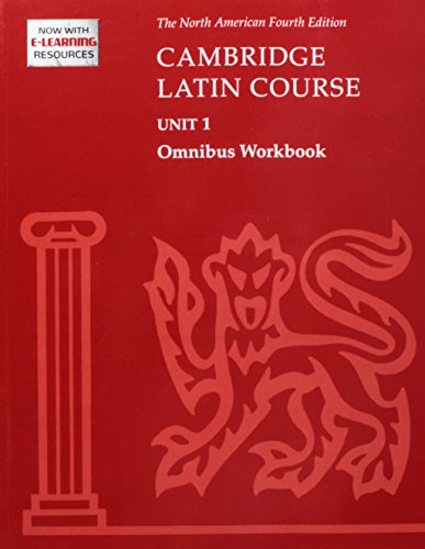 9780521743730: Cambridge Latin Course UNIT 1 Omnibus Workbook
