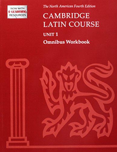 Cambridge Latin Course Unit 1 Omnibus Workbook North American Edition (2009) (Paperback): North ...