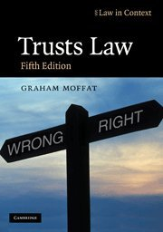 9780521743822: Trusts Law: Text and Materials (Law in Context)
