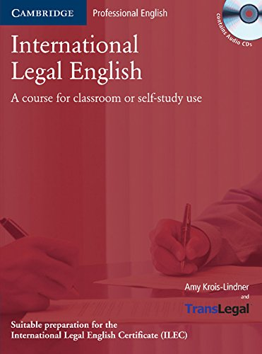 9780521743891: International Legal English Student's Book with Audio CDs (2) and Glossary Polish edition: A Course for Classroom or Self-study Use