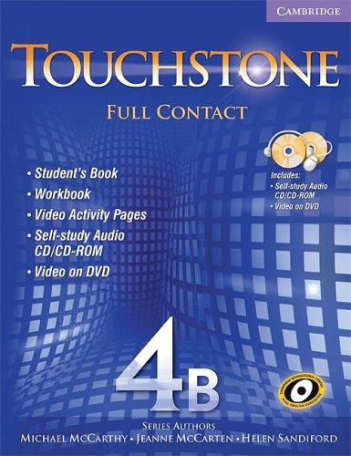 9780521744201: Touchstone 4B Full Contact (with NTSC DVD): No. 4B