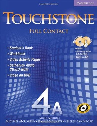 Touchstone 4A Full Contact (with NTSC DVD): Michael McCarthy; Jeanne