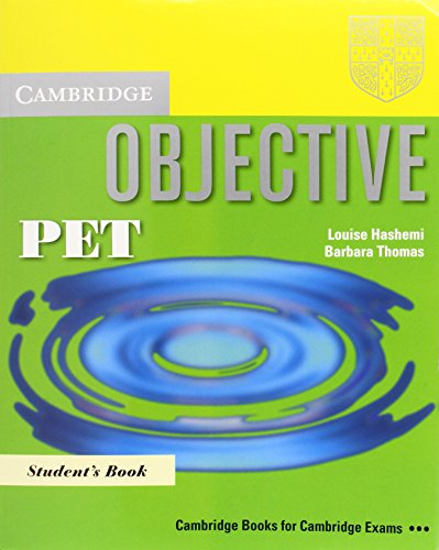 9780521744591: Objective PET Pack (Student's Book and PET for Schools Practice Test Booklet without answers with Audio CD)