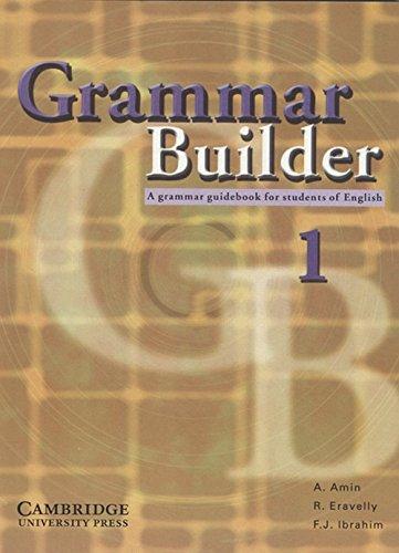 Grammar Builder Level 1 (South Asian Edition): Adibah Amin, Rosemary