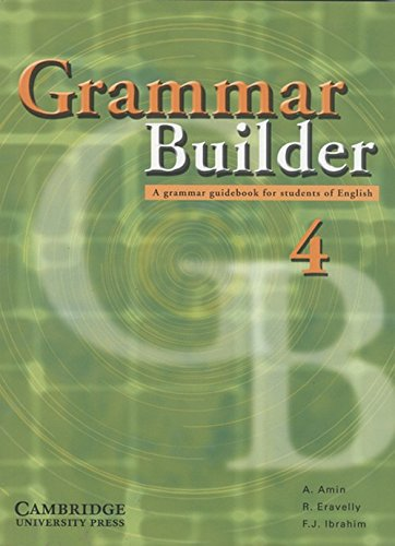 9780521744911: Grammar Builder Level 4 - South Asian Edition