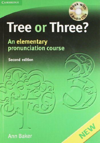 9780521744966: Tree or Three? with 3 Audio Cds, 2nd Edition (South Asian Edition)