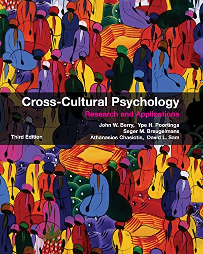 9780521745208: Cross-Cultural Psychology: Research and Applications