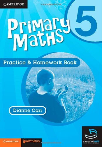 9780521745451: Primary Maths Practice and Homework Book 5