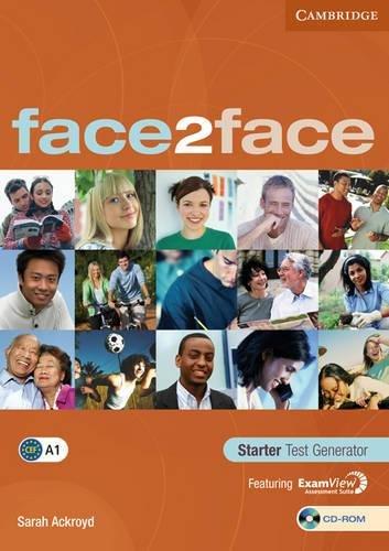 9780521745840: face2face Starter Test Generator, CD-ROM