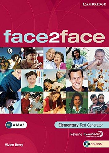 9780521745857: face2face Elementary Test Generator CD-ROM