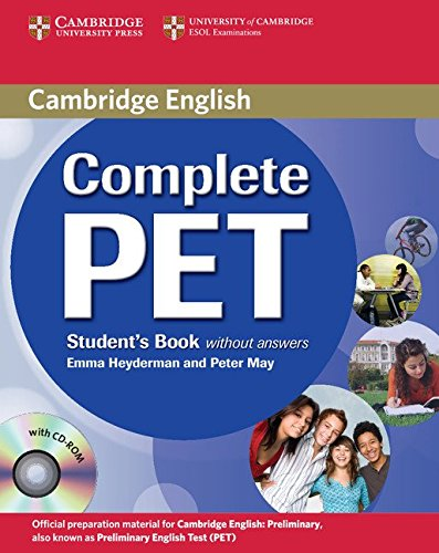9780521746489: Complete PET Student's Book without answers with CD-ROM