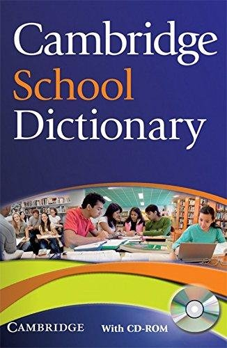 9780521746601: Cambridge School Dictionary with CD-ROM