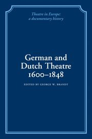 Theatre in Europe 8 Volume Paperback Set: A Documentary History (Paperback)