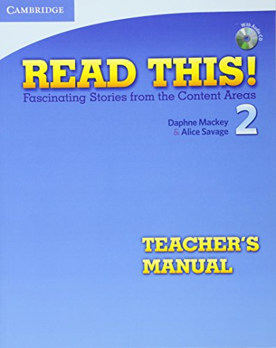 Read This! Level 2 Teachers Manual with: Mackey, Daphne and
