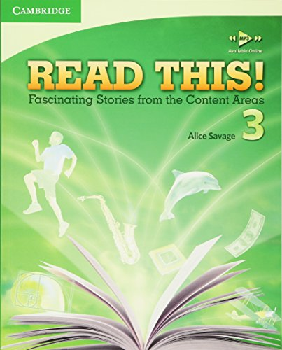 9780521747936: Read This! Level 3 Student's Book: Fascinating Stories from the Content Areas