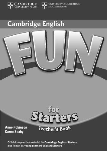 9780521748612: Fun for Starters Teacher's Book