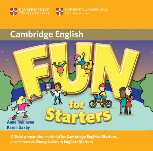 9780521748636: Fun for Starters Audio CD