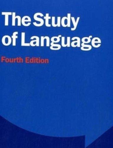 9780521749220: The Study of Language