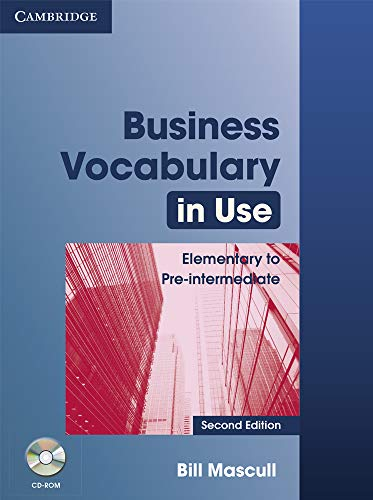 9780521749237: Business Vocabulary in Use 2nd Elementary to Pre-intermediate with Answers and CD-ROM (Vocabulary in Use Book/CD Rom)