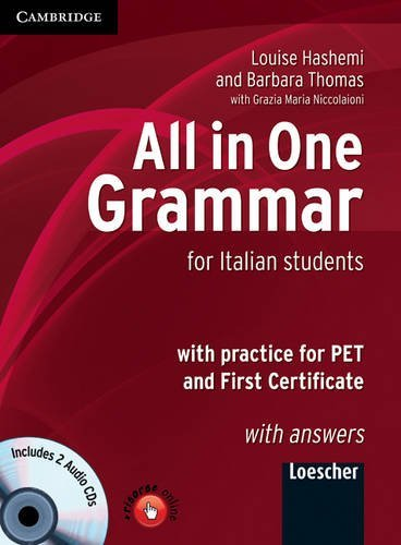 9780521749787: All in One Grammar Italian Edition with Answers and Audio CDs (2)