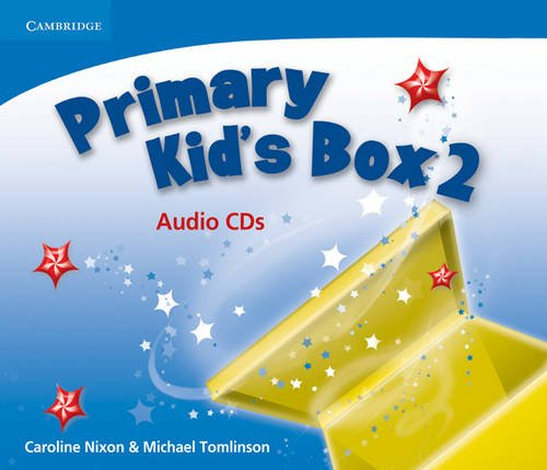 Primary Kid's Box Level 2 Audio CDs: Caroline Nixon ,