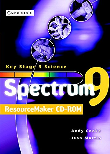 Spectrum Teacher File and ResourceMaker Year 9 CD-ROM: Andy Cooke, Jean Martin