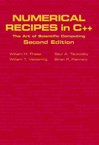 9780521750332: Numerical Recipes in C++: The Art of Scientific Computing