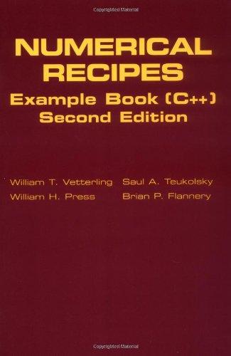 9780521750349: Numerical Recipes Example Book (C++): The Art of Scientific Computing