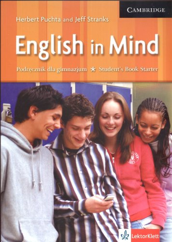 9780521750400: English in Mind Starter Student's Book Polish Edition