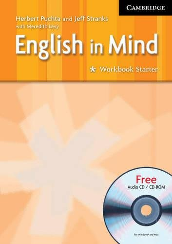 9780521750417: English in Mind Starter Workbook with Audio CD/CD ROM